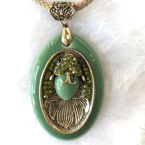 Jewelry - Koi Fish Rhinestone Pendant
